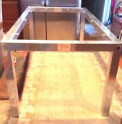 Rausch Aluminum Outdoor Extension Dining Table Incredible Tubes Hold Extension