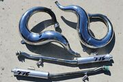 Yamaha Banshee Toomey T5 T6 Exhaust Pipes And Silencers 87-06 Discontinued N-46