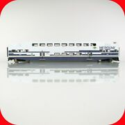 Ho Scale Bombardier Metrolink Passenger Control Car 606, From Athearn 25907 Set