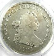 1798 Draped Bust Silver Dollar 1 Coin - Certified Pcgs Vf Details - Rare Coin