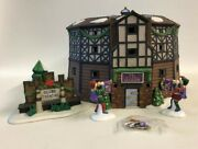 Department 56 Old Globe Theatre Heritage Collection Dickens Village Boxed 4 Pcs