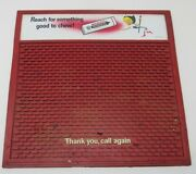 Rare Wrigleyand039s Spearmint Chewing Gum Grocery Store Advertising Change Pad