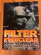 Frank Kozik Poster Print Filter And Everclear 1995 The Palace Signed Artist Proof