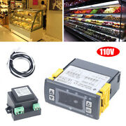 Small Electronic Digital Display Refrigerator Thermostat Temperature Controller