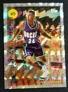 1996-97 Topps Ray Allen Rookie Rc Draft Pick Redemption Cracked Ice
