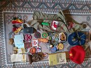 Boy Scout Position Patch Pins Hats Book Shirt Youth Ect Ect.old