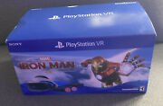 Empty Box Only Sony Playstation Vr Psvr Iron Man Bundle Ps4 W/ Extra Wires