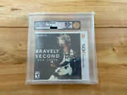 Nintendo 3 Ds Bravely Second End Layer Vga 95+ Mint Uncirculated Us Neu Sealed