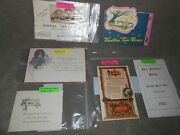 Paper Ads - Empire Room Hotel Terminus Page And Shaw Candies Red Feather Farm