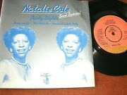 Natalie Cole -   Party Lights + 3,   Rare 1977 Uk Pic Sleeve Demo 7..... Ex
