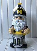Michigan Wolverines Garden Gnome College Football Drummer Forever Collectible