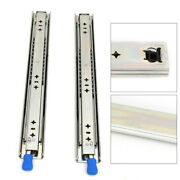 18inch Heavy-duty Lock Slide Rail Fit For Cupboard Tool Cabinets Large Equipment