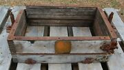 Antique Adams Foundry, Dubuque, Wooden Flask Sand Casting Mold, Planter Table 4