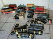 Early 1940and039s Lionel Trains Cars Locomotive Track Transformers Switch Plates