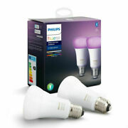 Philips Hue E-27 White And Color Ambiance Doppelpack Bluetooth 16 Million Farben