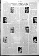 Antique Old Print Thumbnail Portraits Gin Ri Wool Bathing Suits 1927