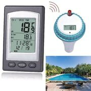 Floating Water Temp Thermometer For Swimming Pool Spa Hot Tub Wireless Remote