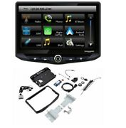 Stinger Stereo 10 Radio Includes Dash Kit And Interface For Jeep Wrangler 2011-18