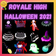 Royale High - Halloween 2021 New Items Restocked Fast Delivery L Cheap Price.