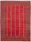 Hand-knotted Tribal Carpet 9and0391 X 12and0394 Traditional Vintage Wool Rug