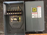 Square D Lighting Contactor 89031xo80 8 Pole Normally Open Contacts