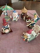 Department 56 Vernon Grant Story Book Christmas Ornaments Rare Lot Of 6