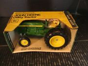 Ertl Toys John Deere Utility Tractor With Round Nose 1/16 516 Green Yellow Box