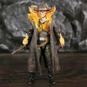 Carter Slade The First Cowboy Ghost Rider Action Figure With Hand Gun Flame Effe