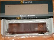 Exactrail Ee-80455-1 Berwick 7440 Boxcar Conrail Cr 278073 Weathered