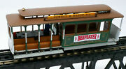 Bachmann Ho-scale San Francisco Cable Car Powell And Mason Beefeater And Pepsi Cola