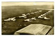 Junkers Commercial Airplanes Leipzig Aerodrome Germany 1924 Real Photo Postcard
