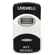 Carling Boat Rocker Switch   Livewell Aft Recirculating On/off 20a 12v
