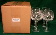 Kosta Boda Gripsholm Water Goblets Set Of Four More Items Here New In Box