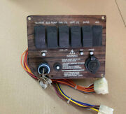 1998 Four Winns 225 Sundowner Dash Board Switches And Ignition Panel
