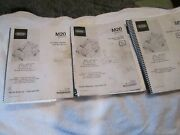 Factory Tennant M20 Floor Scrubber-sweeper Parts Service Operation Manual 3 Book