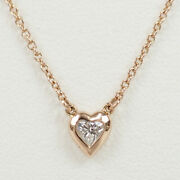 And Co. Elsa Peretti Par The Yard Collier 18k Or 0.17ct Diamant Tf2807