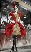 New Silkstone Barbie Fashion Model Russian Darya Gold Label Le Couture Doll Nrfb