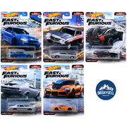 Hot Wheels 2021 Premium Fast And Furious M Fast Superstars - Pick And Choose