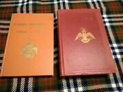 Lot Of Two Vintage Masonic Books - Morals And Dogma 1951 And Clausen's Commentary