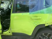 Driver Rear Side Door Electric Privacy Tint Glass Fits 15-16 Renegade Green