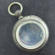 Antique Dueber Key Wind 4 Pocket Watch Case For 18 Size Coin Silver