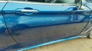 Passenger Right Front Door Coupe Fits 17-18 Infiniti Q60 Blue 4261802