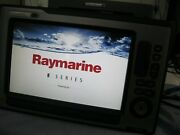 Raymarine E120w Multi Function Display And Gps Chartplotter E-wide Series