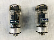 Vintage 1960s Genalex New Old Stock Kt88 Tubes - Matched Pair In Original Boxes