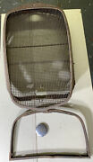 Vintage 1932 Chevrolet Grille Shell Hot Rat Rod With Radiator Cap And Core Suprt