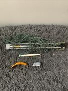 Vintage Wooden Fishing Lures And 1930s Collapsible Net