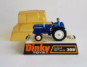 Rare Blue Dinky Toys No. 308, Leyland 384 Tractor, - Superb Near Mint Condition