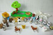 Fisher Price Little People Farm Animals Xmas Toy Lot Bundle