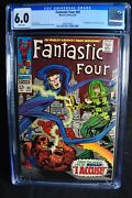 Fantastic Four 65 - Marvel Comics - 18/67 - Cgc 6.0 - White Pages - Silver Age