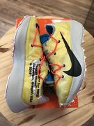 Nike X Off White Vapor Street Tour Yellow Menand039s 10.5 Womenand039s 12 Og All Vnds